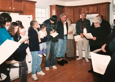 Delavan 2004, House Blessing