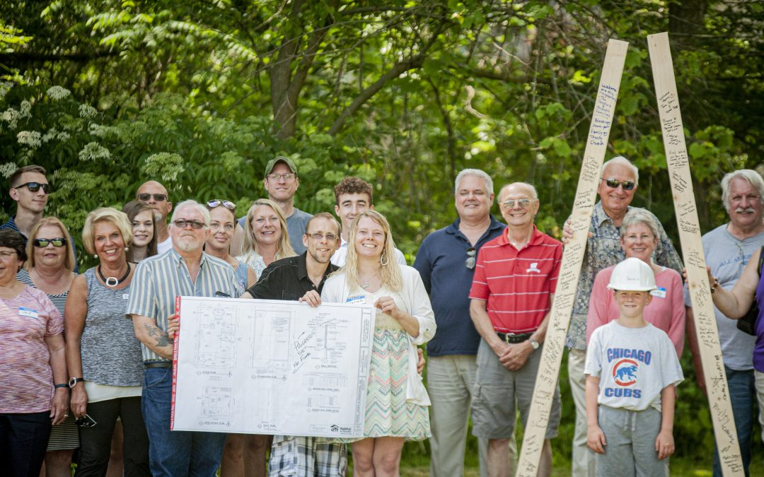 Groundbreaking Ceremony Held for Local Habitat Family
